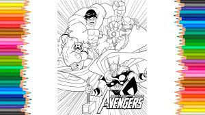Coloring Pages Avengers Infinity War Page L Marvel Coloring Pages