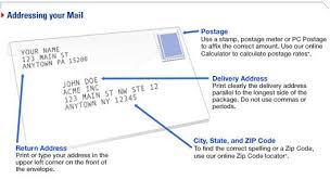 How To Put Address On Letter How To Address An Envelope Noskewiki