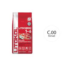 <b>Затирка</b> цементная <b>LITOKOL</b> LITOCHROM 1-6 белая 2 кг купить ...