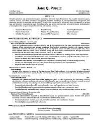 Executive Secretary Resume Examples Interesting Ideas Of Administrative Professional Resume Sample Also Proposal