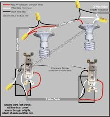 3 way switch wiring diagram 3 wire pull chain light switch diagram at 3 Wire Light Switch Diagram