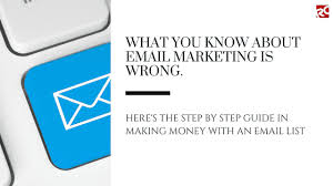 How To Make Money With Email List Reginald Chan