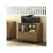 printer stand file cabinet. Bush Furniture Achieve Printer Stand File Cabinet In Warm Oak R