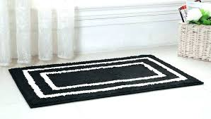 charming 8 black and white bathroom rugs samples home ideas intended for bath rug inspirations 2 white bath rug