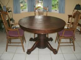 antique round table with claw feet value of antique oak tiger claw dining table my antique