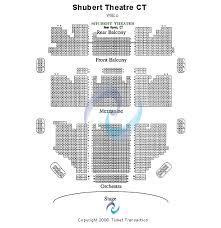 Shubert Theater Ct Seating Chart