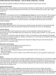 Clerical Resume Templates Stunning Postal Clerk Resume Sales Postal Clerk Resume Sales Post Office