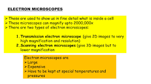 CONVERSION UNITS FOR MICROSCOPES NOW DO THE WORKSHEET ON SIZE AND ...