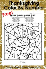 thanksgiving color by number simple addition squarehead teachers 749866 11md charizard pokemon nintendo multiplication coloring worksheet