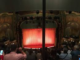 Aladdin Theater Nyc Seating Chart New Amsterdam Theatre Section Balcony C Row G Seat 112