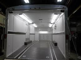 genply interior with totally insulated walls floor ceiling escape doorwith paddle latch 32 mandoor with paddle latch flouresent lights dome lights