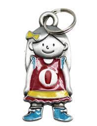 My Kids Initial Charm: <b>O, Girl</b>, Maroon - By Ganz - Walmart.com