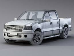 Ford F-150 Raptor 3d model 3ds Max,Object files free download ...