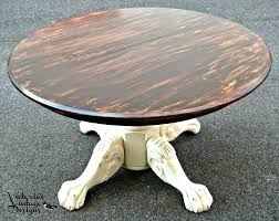 clawfoot dining table and chairs round table vintage designs vintage oak claw foot round dining table
