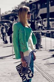 green leather jacket for women fashion