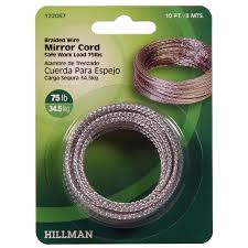 Hillman Mirror Picture Hanging Cord