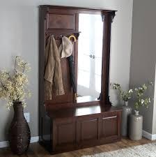 Mirror Coat Rack Mirrored Coat Rack With Bench And Mirror Perfect Racks Daniioliver 81