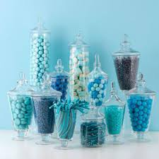 Decorative Glass Candy Jars Glass Candy Jars For Wedding Decoration Canister Storage Bottle 38