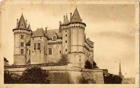 une vue de la faaade ouest. Saumur - Façade Ouest Une Vue De La Faaade