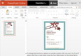 word powerpoint online event flyer templates powerpoint spring template for powerpoint
