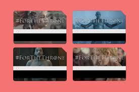 Mta Metrocard Design Mta Releasing Limited Edition Game Of Thrones Metrocards Time