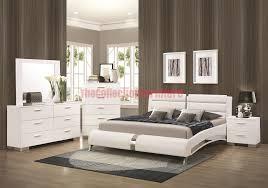 Jeslyn White 4 Piece Bedroom Set