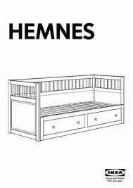 ikea hemnes daybed w 2drawers