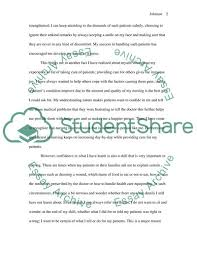 Nursing Admission Essay Examples Nurses On The Front Line Of Providing Health Care Admission