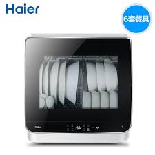 get ations haier haier htaw50stgb beckham desktop mini automatic dishwasher dishwasher disinfection