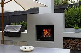 cool outdoor gas fireplaces
