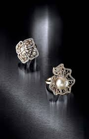 farah khan for tanishq diamond rings pictured on the right is an all diamond