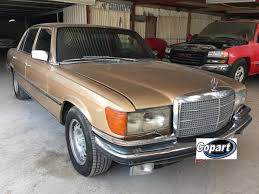Missing front headlight wipers.dash has some cracks. 1979 Mercedes Benz 450sel 6 9 Sale At Copart Middle East