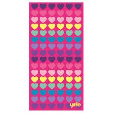 beach towel designs. Image Is Loading Yello-Beach-Towel-Heart-Design Beach Towel Designs