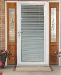 front door with blinds in glass 7 ways to add privacy to the front door design