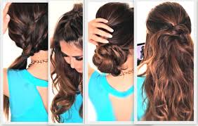 New Hair Style For Girls new simple hairstyle for girls step by step best hairstyle 4249 by wearticles.com