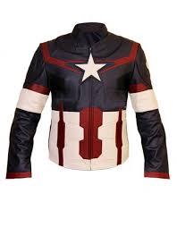 avengers captain america leather jacket