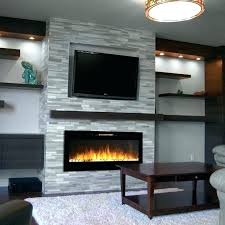 fireplace wall units electric