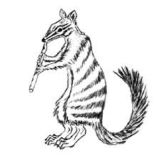 Small Picture Numbat coloring page Animals Town Free Numbat color sheet