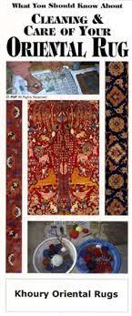 art of rug making brochure