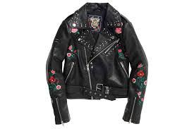 georgia studded biker jacket