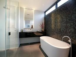beautiful feature wall tiles contemporary bathroom auckland by the tile