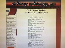Alwaysastrology Com Birth Chart My Birth Chart On Alwaysastrology Dot Com Zodiac Amino