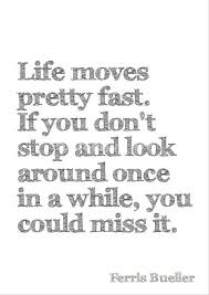 Life Moves On Quotes Beauteous Ferris Bueller Life Moves Fast Quote Download Free Ferris Bueller