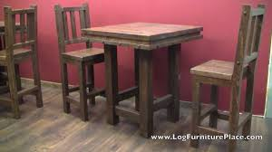Barnwood Bar lonestar rustic barnwood pub table from logfurnitureplace 7572 by guidejewelry.us