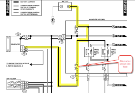 gen 2 h6 alternator wire assembly page 2 subaru outback 2 Wire Alternator Diagram 2 Wire Alternator Diagram #72 2 wire alternator wiring diagram