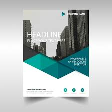 Brochure Templates For It Company Polygonal Corporate Brochure Template Vector Free Download