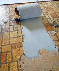 asbestos flooring asbestos vinyl sheet flooring photo 1 of 7 asbestos backing from vintage sheet flooring