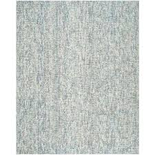 abstract blue charcoal 8 ft x 10 ft area rug