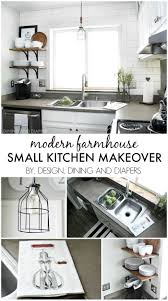 Decorating Kitchen On A Budget Top Projects Of 2014 So Far Modern Farmhouse Small Kitchens And