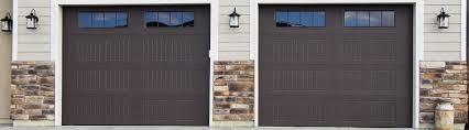 model 9100 steel garage door sonoma brown stockbridge